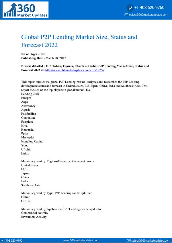 Global-Champagne-Sales-Market-Report-2016 Global-P2P-Lending-Market-Size-Status-and-Forecast