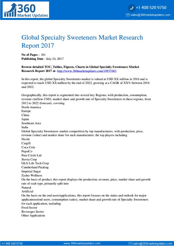 Global-Specialty-Sweeteners-Market-Research-Report