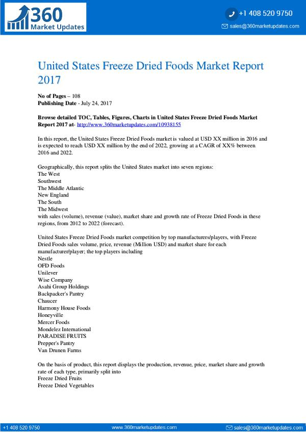 United-States-Freeze-Dried-Foods-Market-Report-201
