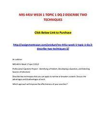 My first MagazineTopic 5 DQ2 leadership in nursing