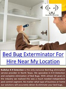 Dallas bed bug treatment cost