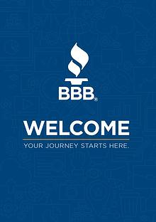 Better Business Bureau New Accredited Business Welcome Booklet