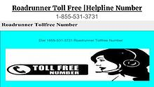 18555313731 Roadrunner Toll Free | Helpline Number