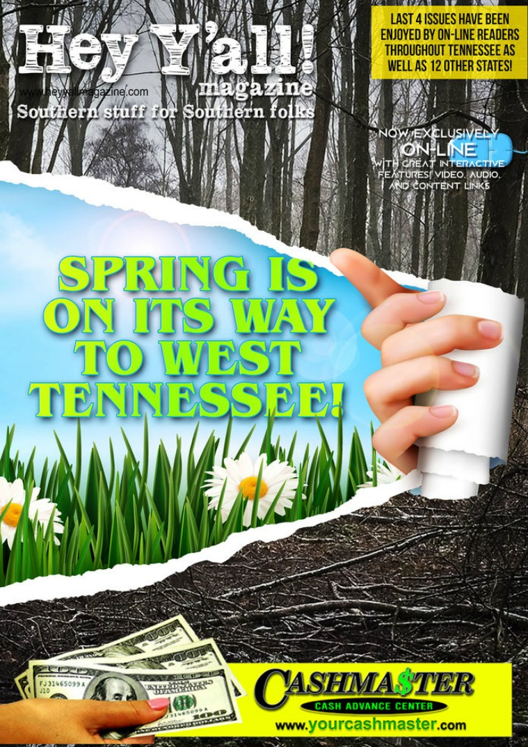 Hey Y'all Magazine spring is coming