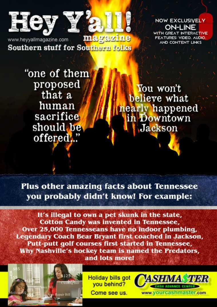 Hey Y'all Magazine Tennessee facts issue