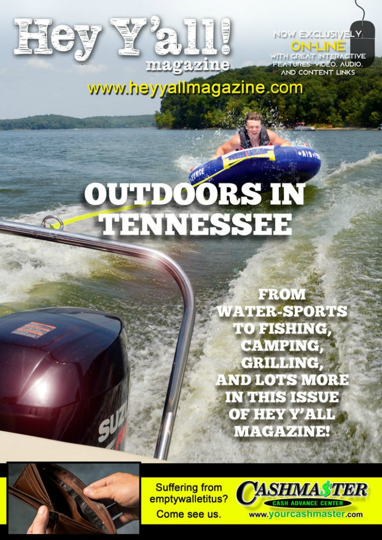 Hey Y'all Magazine Tennessee Outdoors