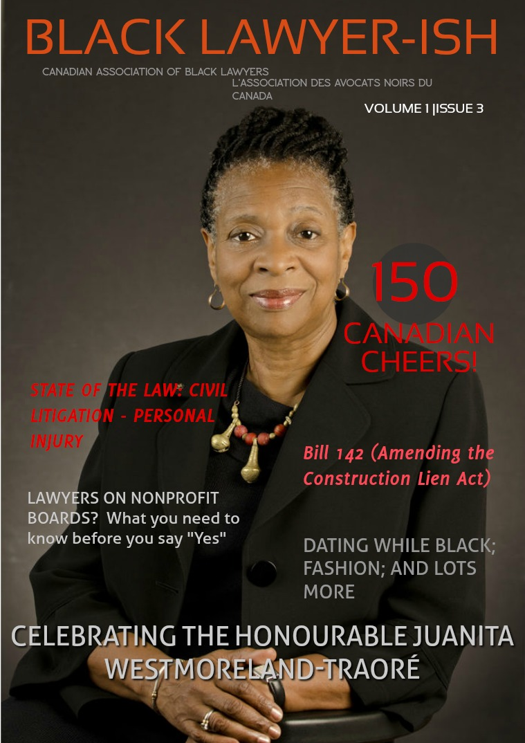 Black Lawyer-ish Issue 3 Volume 1