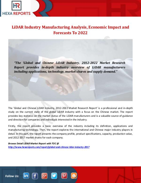 LiDAR Industry