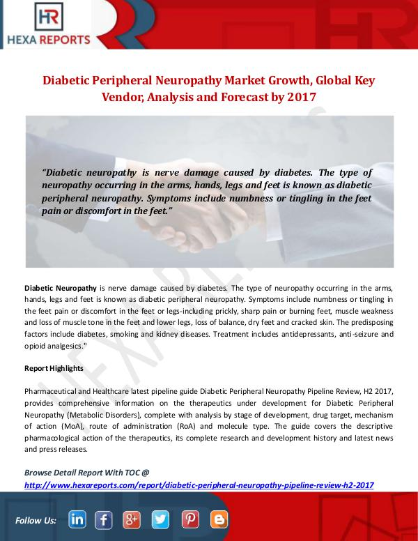 Diabetic Peripheral Neuropathy Market
