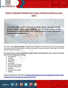 Hexa Reports Industry Maleic anhydride Market