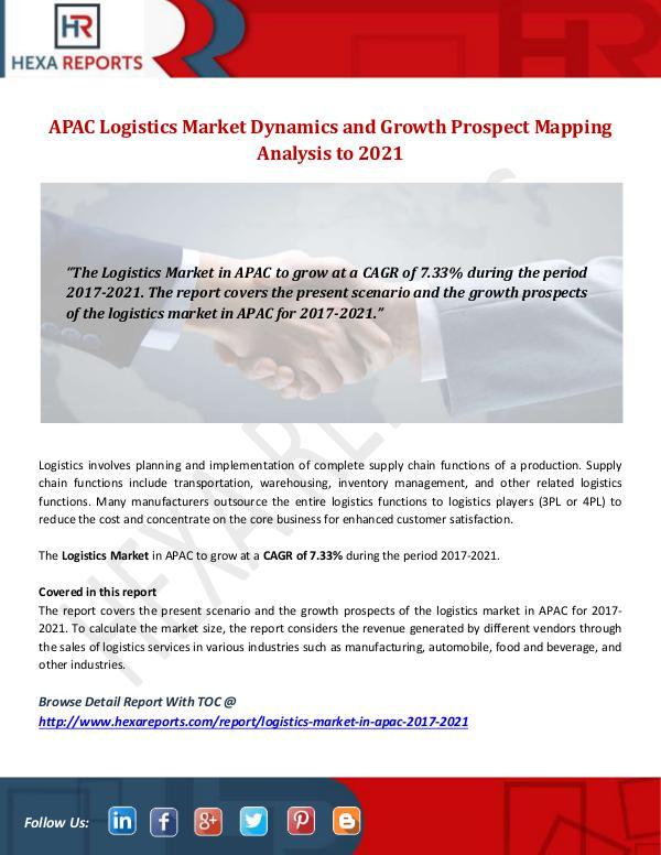 APAC Logistics Market