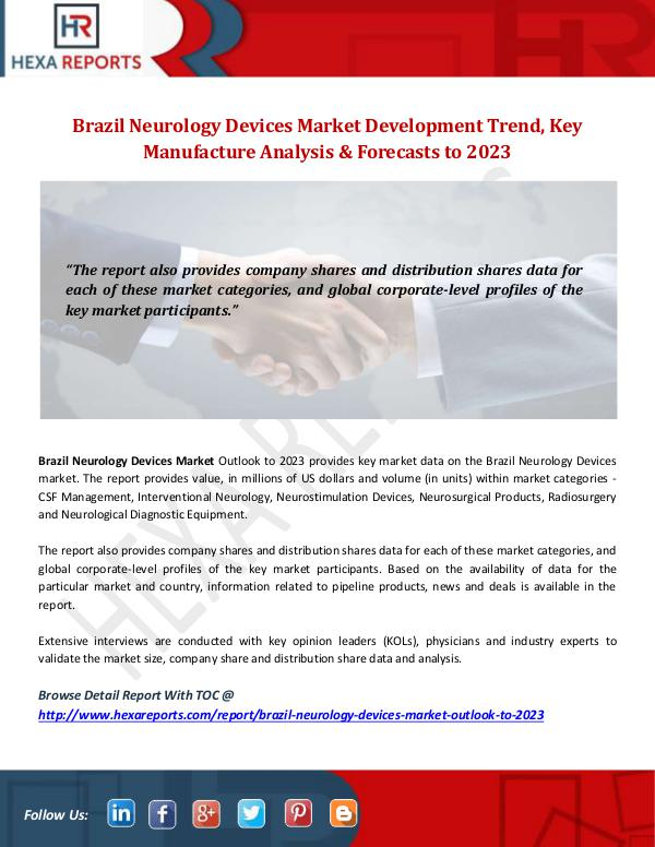 Brazil Neurology Devices Market