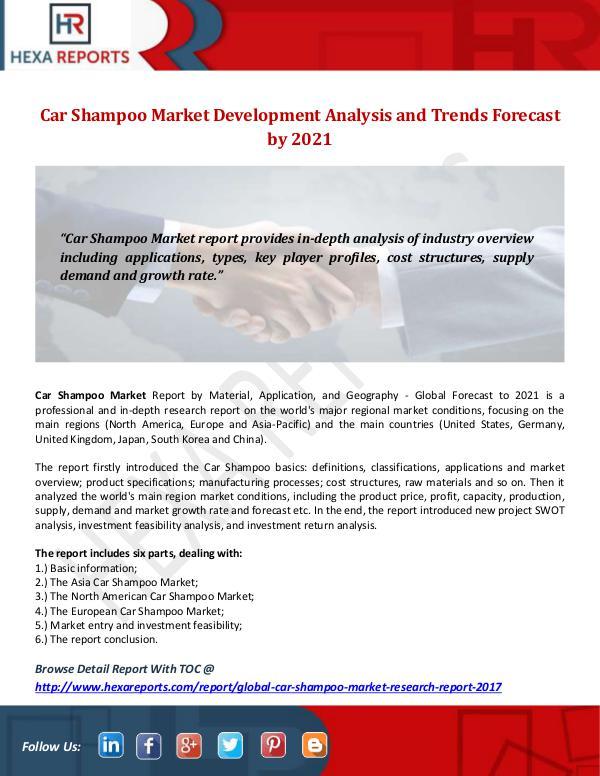 Car Shampoo Market
