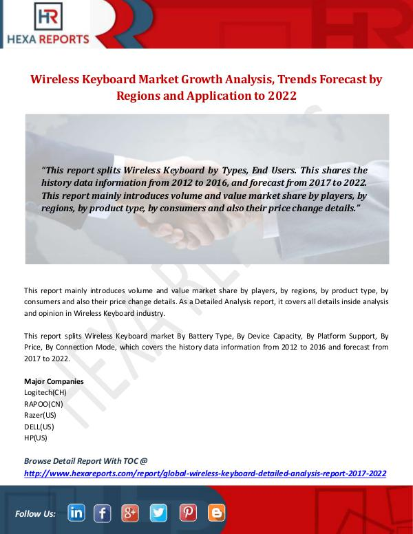 Wireless Keyboard Market