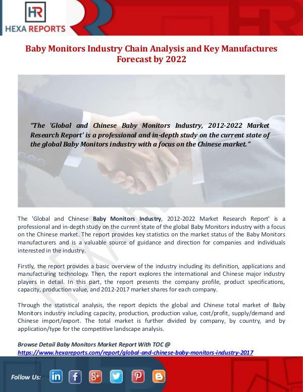 Baby Monitors Industry