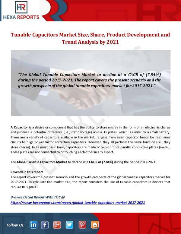 Tunable Capacitors Market