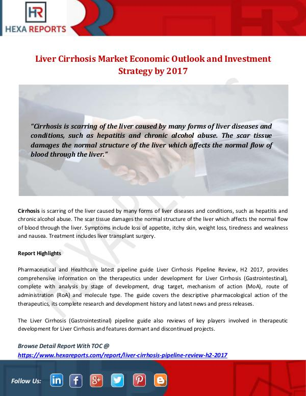 Liver Cirrhosis Market