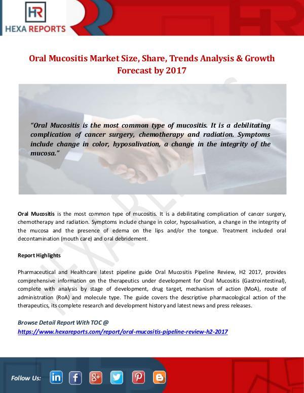 Oral Mucositis Market