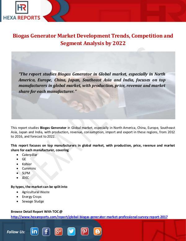 Biogas Generator Market