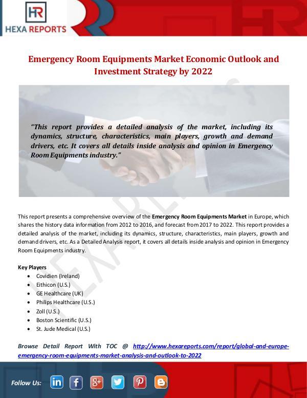 Emergency Room Equipments Market