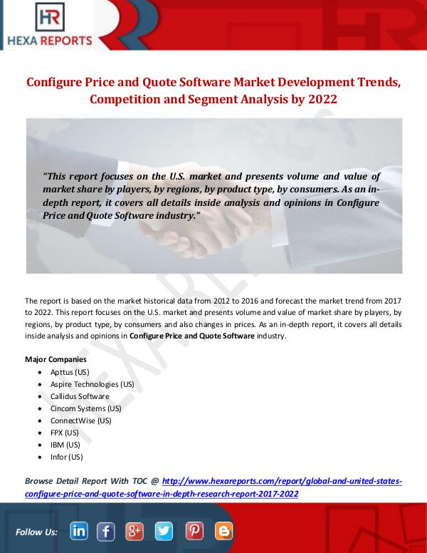 Configure Price and Quote Software Market