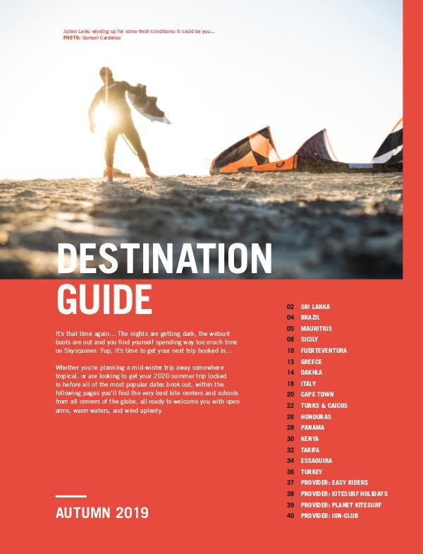 Destination Guide - Autumn 2019