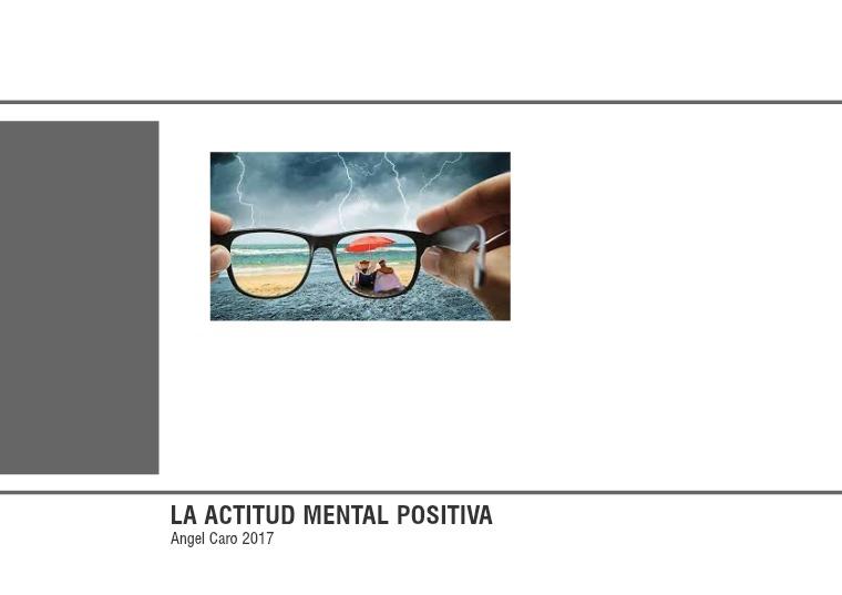 Mi primera revista Actitud mental positiva