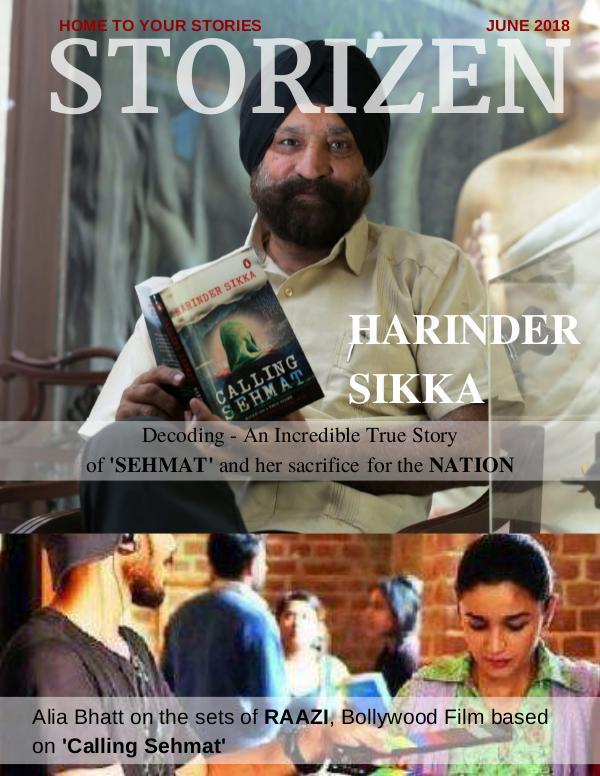 Storizen Magazine June 2018 Issue Storizen Magazine June 2018 Issue