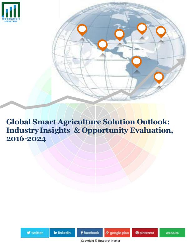 Market Research News Global Smart Agriculture Market (2016-2024)- Resea
