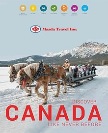 2018 Discover Canada Brochure - Mazda Travel