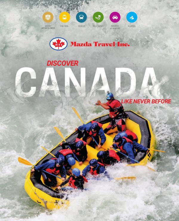 2020 Discover Canada Brochure 2020 Discover Canada Brochure