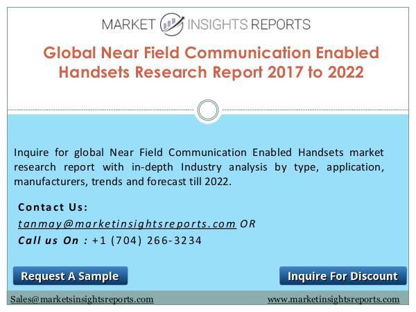 Near Field Communication Enabled Handsets Market Competitive Analysis and Forecasts Till 2022