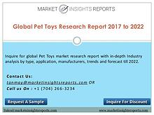 Pet Toys Market