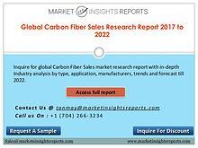 Carbon Fiber Sales Market