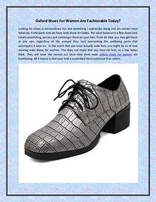 women's oxford shoes