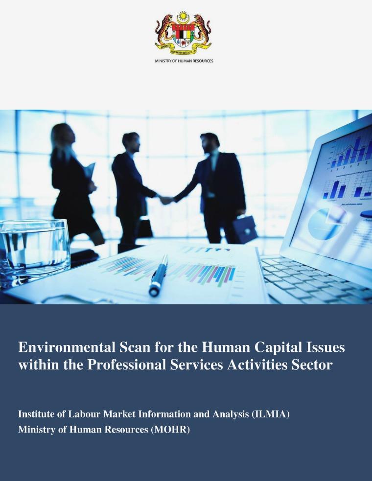 Final Report - Professional Services Activities Environmental Scan Final Report - Professional Services Activities En