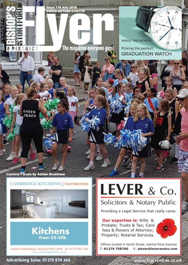 The Bishop's Stortford Flyer Magazine Bishops_Stortford_Flyer_Jul2018_For_Web