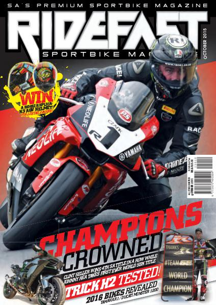RideFast - MCSA - Motorcycling South Africa October 2015