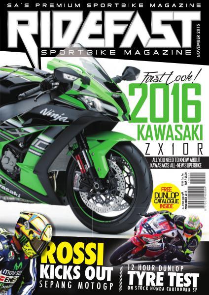 RideFast - MCSA - Motorcycling South Africa November 2015