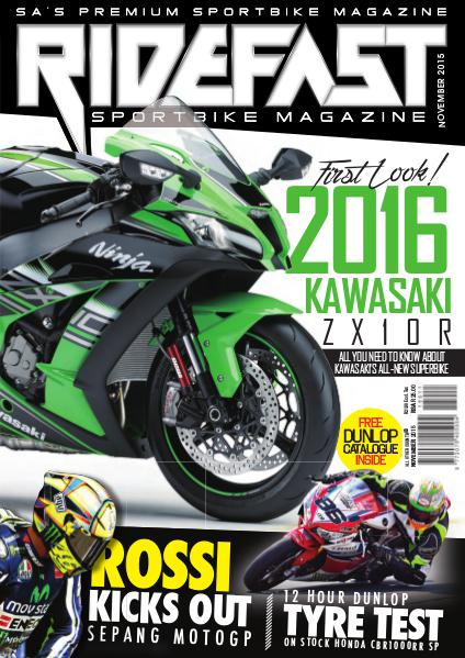 RideFast - MCSA - Motorcycling South Africa November 2015