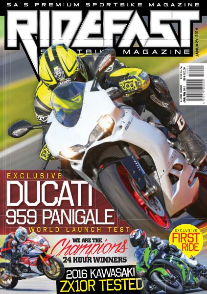 RideFast - MCSA - Motorcycling South Africa January 2016