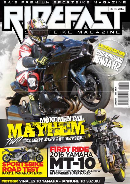 RideFast - MCSA - Motorcycling South Africa June 2016
