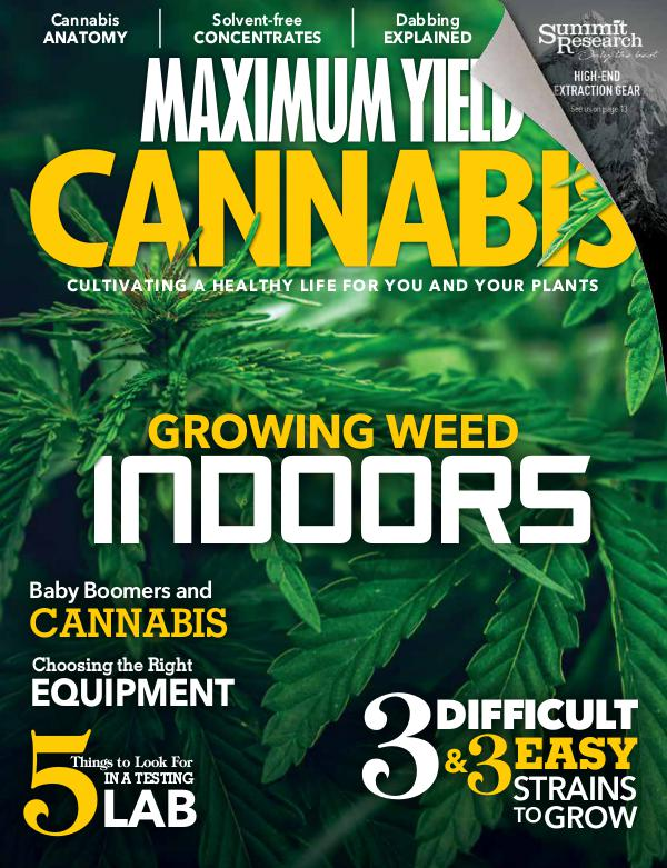 Maximum Yield Cannabis USA June/July 2018