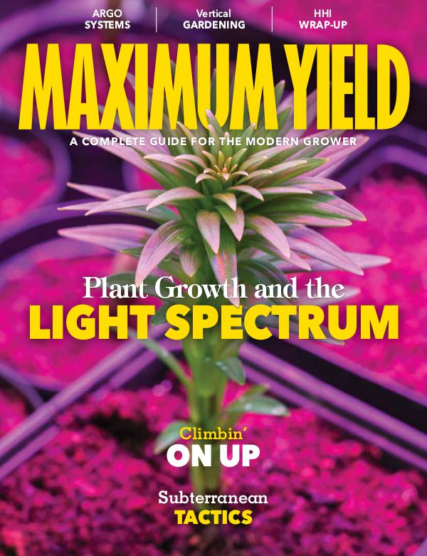 Maximum Yield Australia/New Zealand July/August 2018