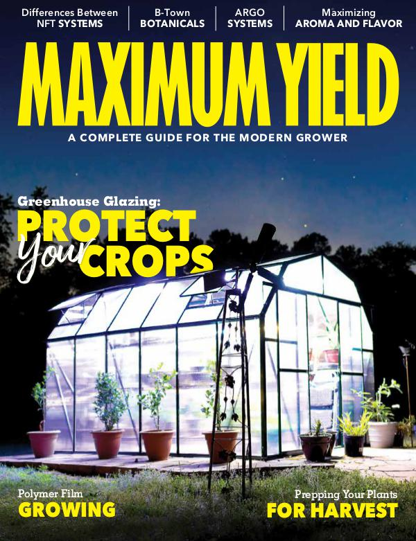 Maximum Yield USA August 2018