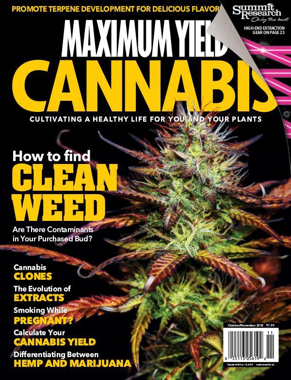 Maximum Yield Cannabis USA October/November 2018
