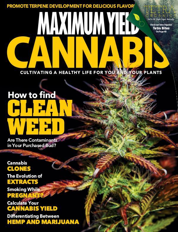 Maximum Yield Cannabis Canada 2018 October/November