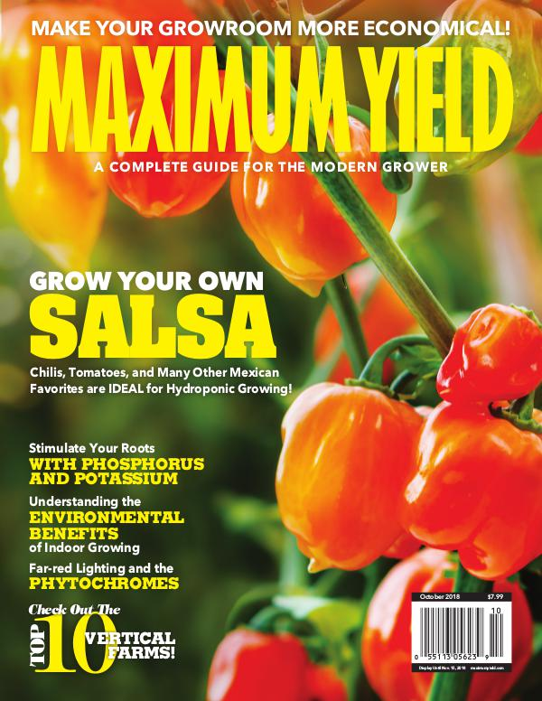 Maximum Yield USA October 2018