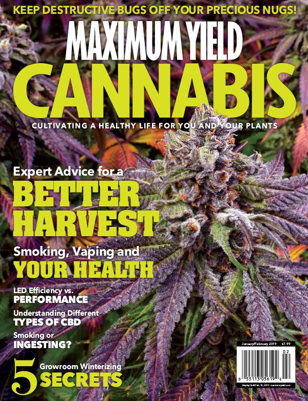 Maximum Yield Cannabis USA January/February 2019