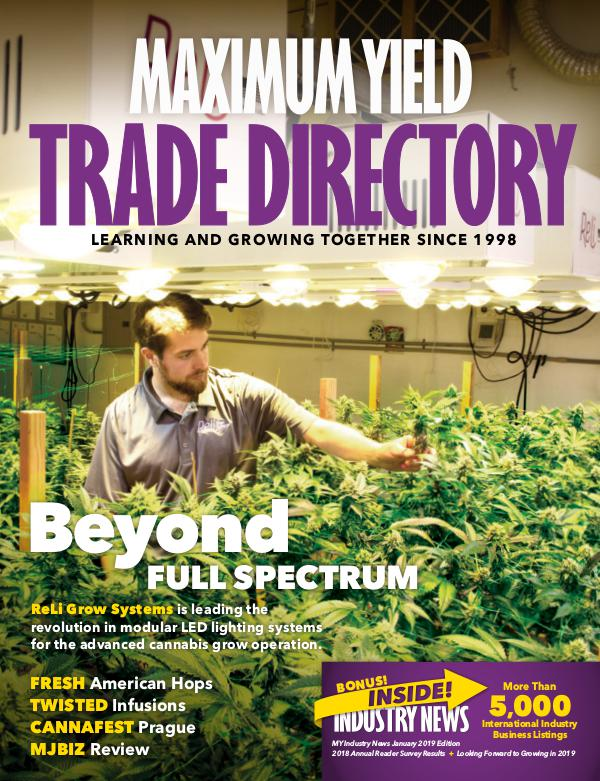 Maximum Yield's Industry News 2019 Trade Directory Special Edition